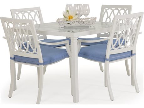Palm Springs Rattan Camden Aluminum Dining Set