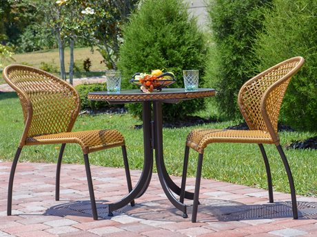 Palm Springs Rattan Cape Town Aluminum Bistro Set