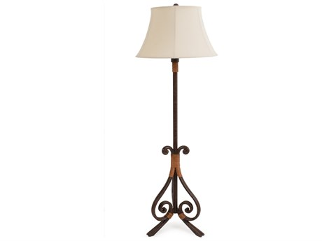 Palm Springs Rattan Outdoor Lighting Tahiti Outdoor Floor Lamp