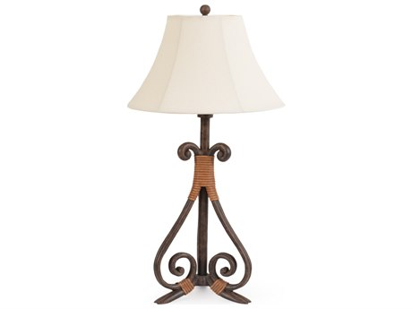 Palm Springs Rattan Outdoor Lighting Tahiti Outdoor Table Lamp