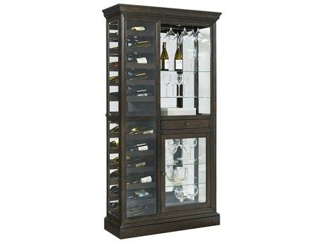 Pulaski Hillsville Mirrored Wine Rack Curio