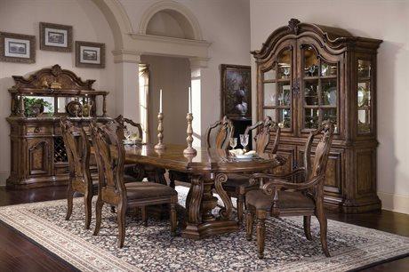 Pulaski San Mateo Rich Pecan Dining Room Set