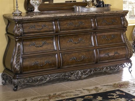 Pulaski Birkhaven Brown Triple Dresser