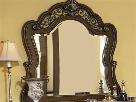 Pulaski Birkhaven Brown 48''W x 49''H Dresser Mirror