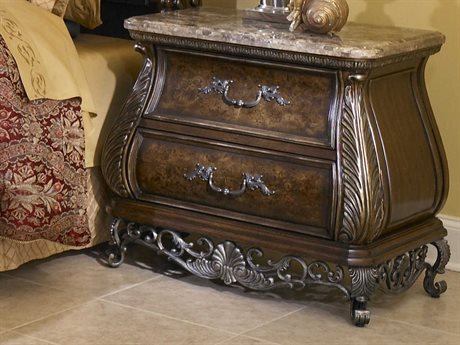 Pulaski Birkhaven Brown 35.5''W x 21.25''D Rectangular Nightstand