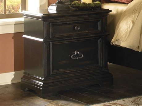 Pulaski Brookfield Black 29''W x 17''D Rectangular Nightstand