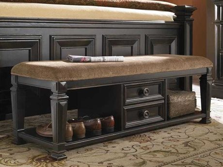 Pulaski Brookfield Black Accent Bench