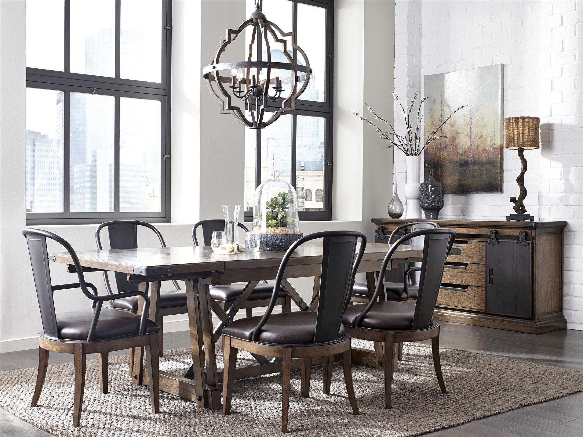 Pulaski Weston Loft Rectangular Table Dining Room Set ...