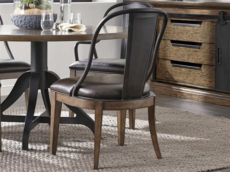 Pulaski Weston Loft Brown Dining Side Chair