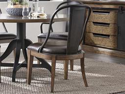Weston Loft Brown Dining Side Chair