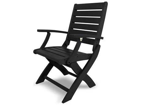 POLYWOOD® Signature Recycled Plastic Folding Chair