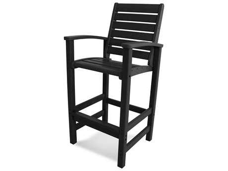 POLYWOOD® Signature Recycled Plastic Bar Chair