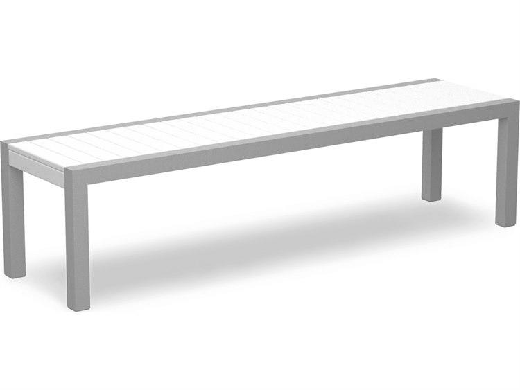 Cool Polywood Mod Aluminum Bench Frankydiablos Diy Chair Ideas Frankydiabloscom