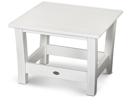 POLYWOOD® Harbour Recycled Plastic 23''Wide Square End Table