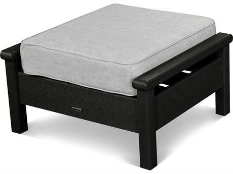 POLYWOOD® Harbour Recycled Plastic Deep Seating Ottoman
