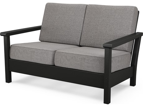 POLYWOOD® Harbour Recycled Plastic Deep Seating Loveseat