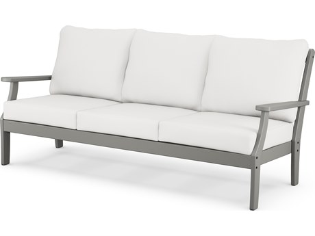 POLYWOOD® Braxton Recycled Plastic Cushion Sofa