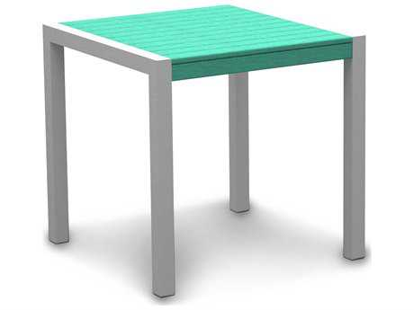 POLYWOOD® Mod Aluminum 30 Dining Table