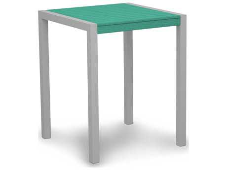 POLYWOOD® Mod Aluminum 30 Square Counter Table
