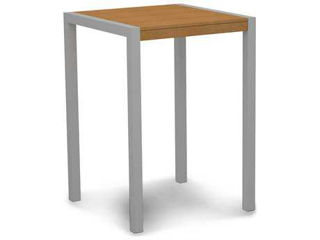 POLYWOOD® MOD Plastique 30 Square Bar Table