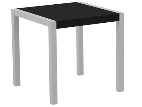 POLYWOOD® Mod Solid Aluminum 30 Square Dining Table