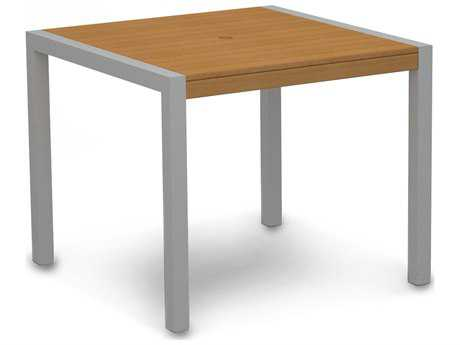 POLYWOOD® MOD Plastique 36 Square Dining Table PW8100NT