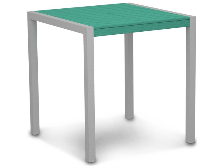 POLYWOOD® Mod Aluminum 36 Square Counter Table