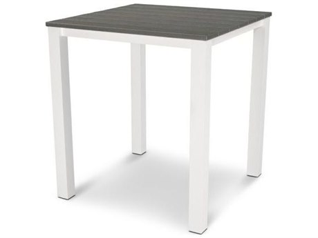 POLYWOOD® Harvest Recycled Plastic 39 Square Bar Table
