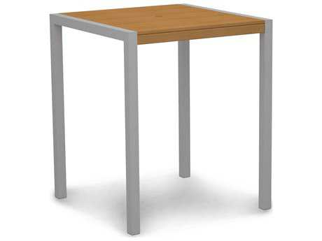 POLYWOOD® MOD Plastique 36 Square Bar Table