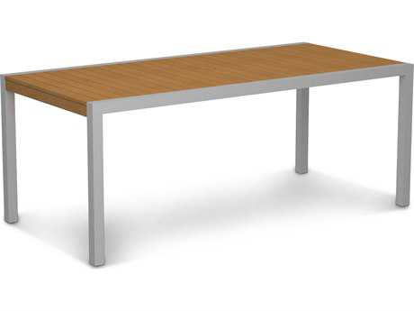 POLYWOOD® MOD Plastique 73 x 36 Rectangular Dining Table PW8300NT