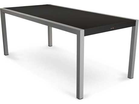 POLYWOOD® Mod Aluminum Rectangular Patio Dining Table