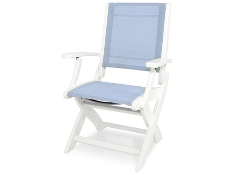 POLYWOOD® Coastal Recycled Plastic Folding Chair