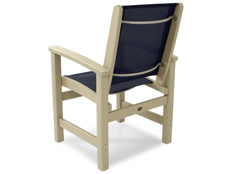 POLYWOOD® Coastal Recycled Plastic Dining Chair