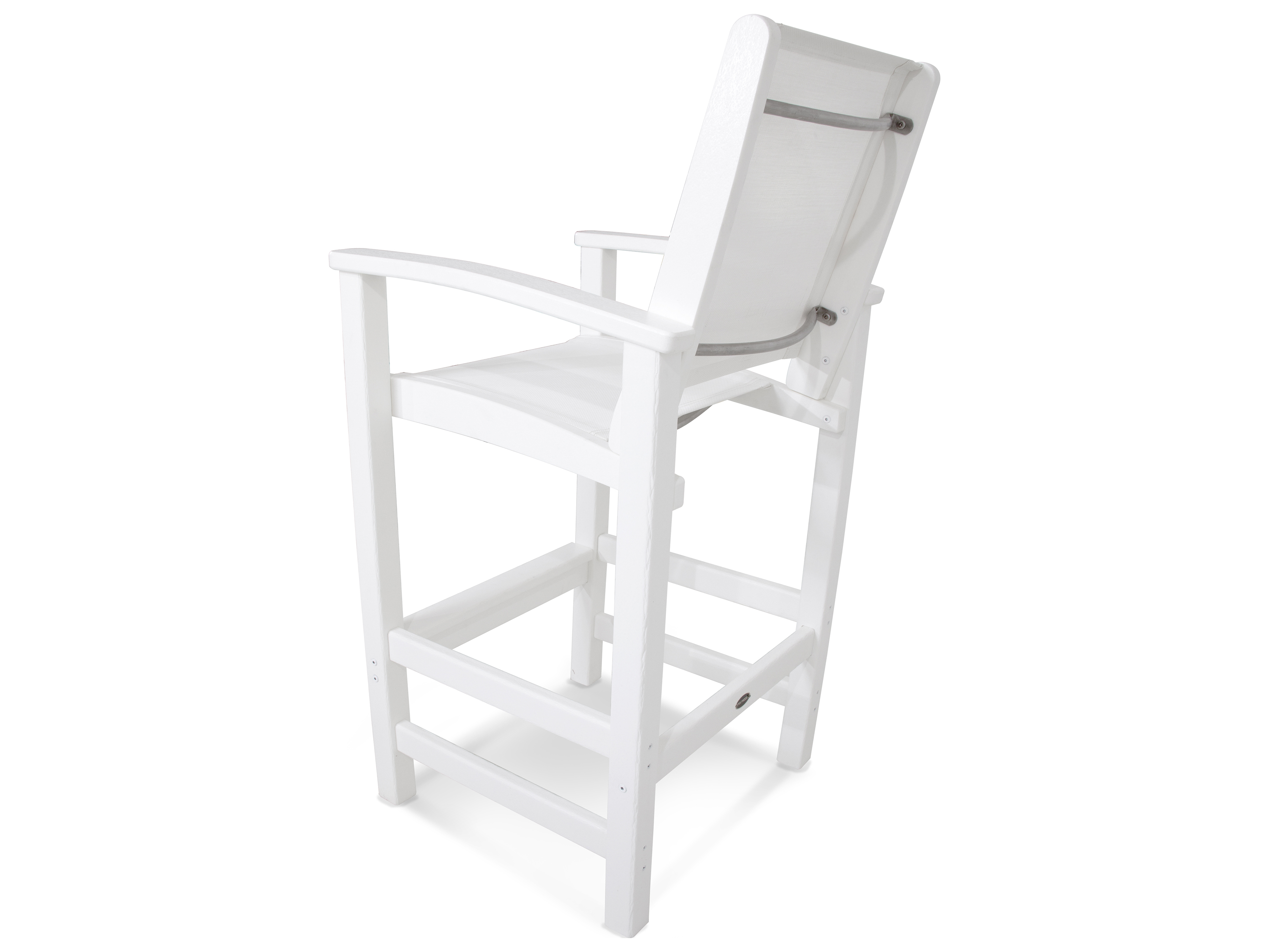 Polywood 174 Coastal Recycled Plastic Bar Chair Pw9012