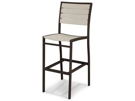 POLYWOOD® Euro Recycled Plastic Side Bar Chair