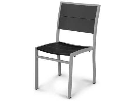 POLYWOOD® MetroAluminum Dining Side Chair