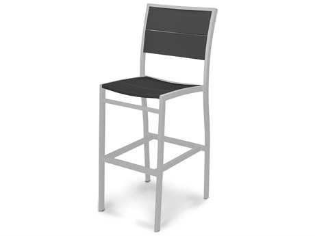 POLYWOOD® MetroAluminum Bar Side Chair