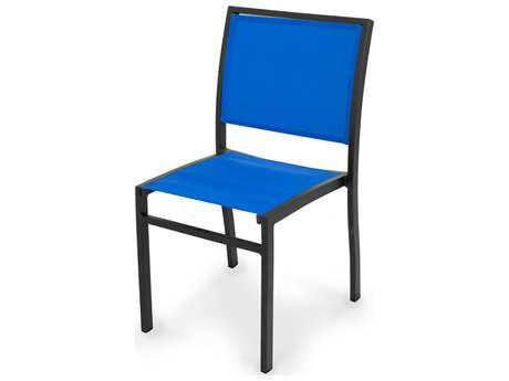 POLYWOOD® Bayline Aluminum Dining Side Chair