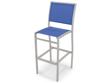 POLYWOOD® Bayline Aluminum Bar Side Chair
