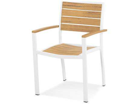 POLYWOOD® Euro Plastique Dining Arm Chair