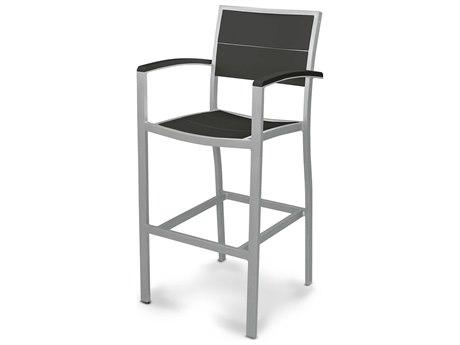 POLYWOOD® Metro Aluminum Bar Arm Chair