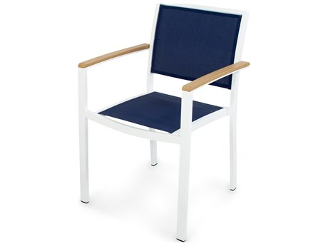 POLYWOOD® Bayline Aluminum Dining Arm Chair PatioLiving