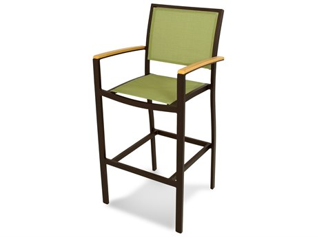 POLYWOOD® Bayline Aluminum Bar Arm Chair