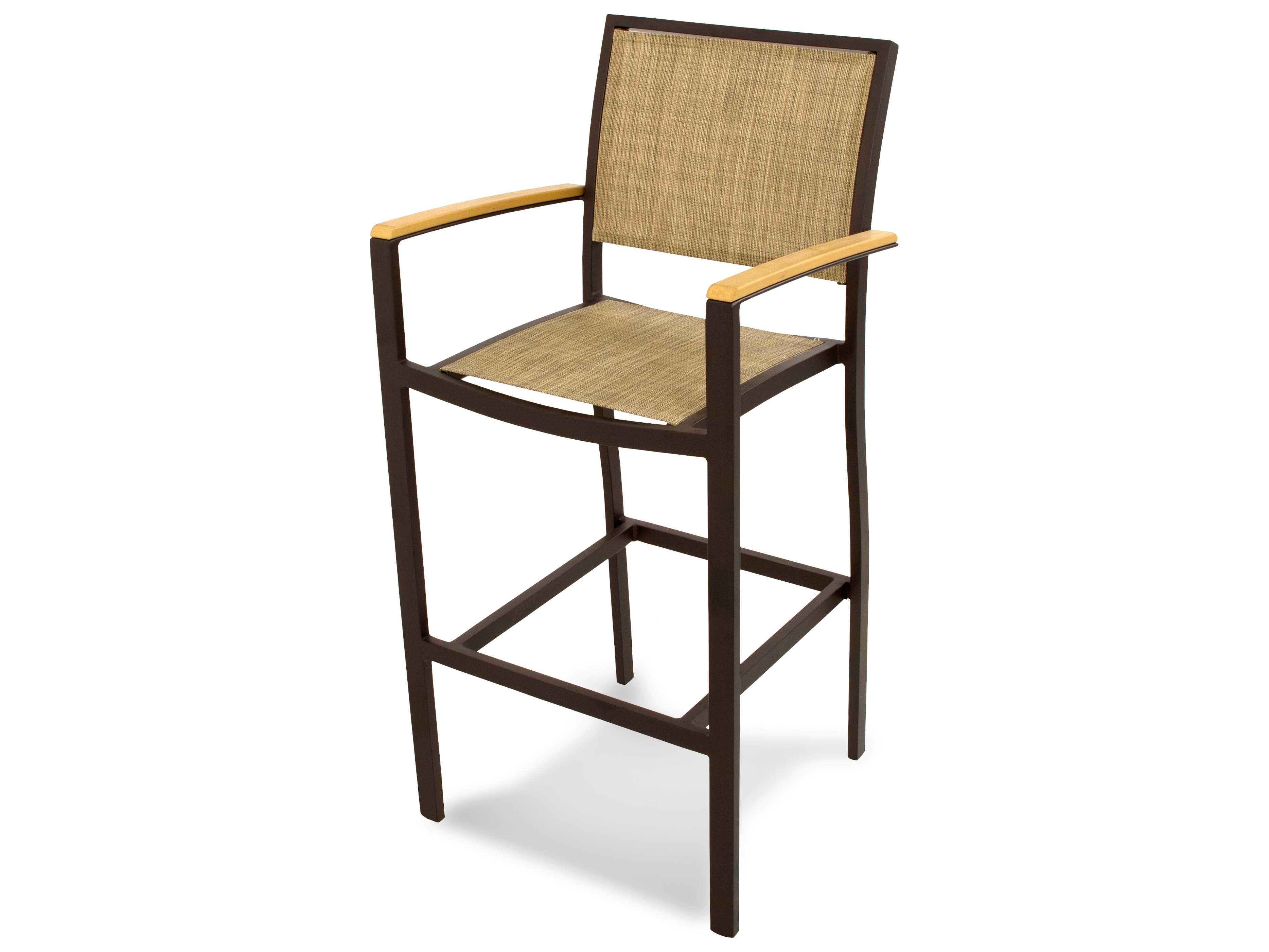 POLYWOOD174 Bayline174174Aluminum Bar Arm Chair PWA292 : PWA29220zm from www.luxedecor.com size 3735 x 2802 jpeg 267kB
