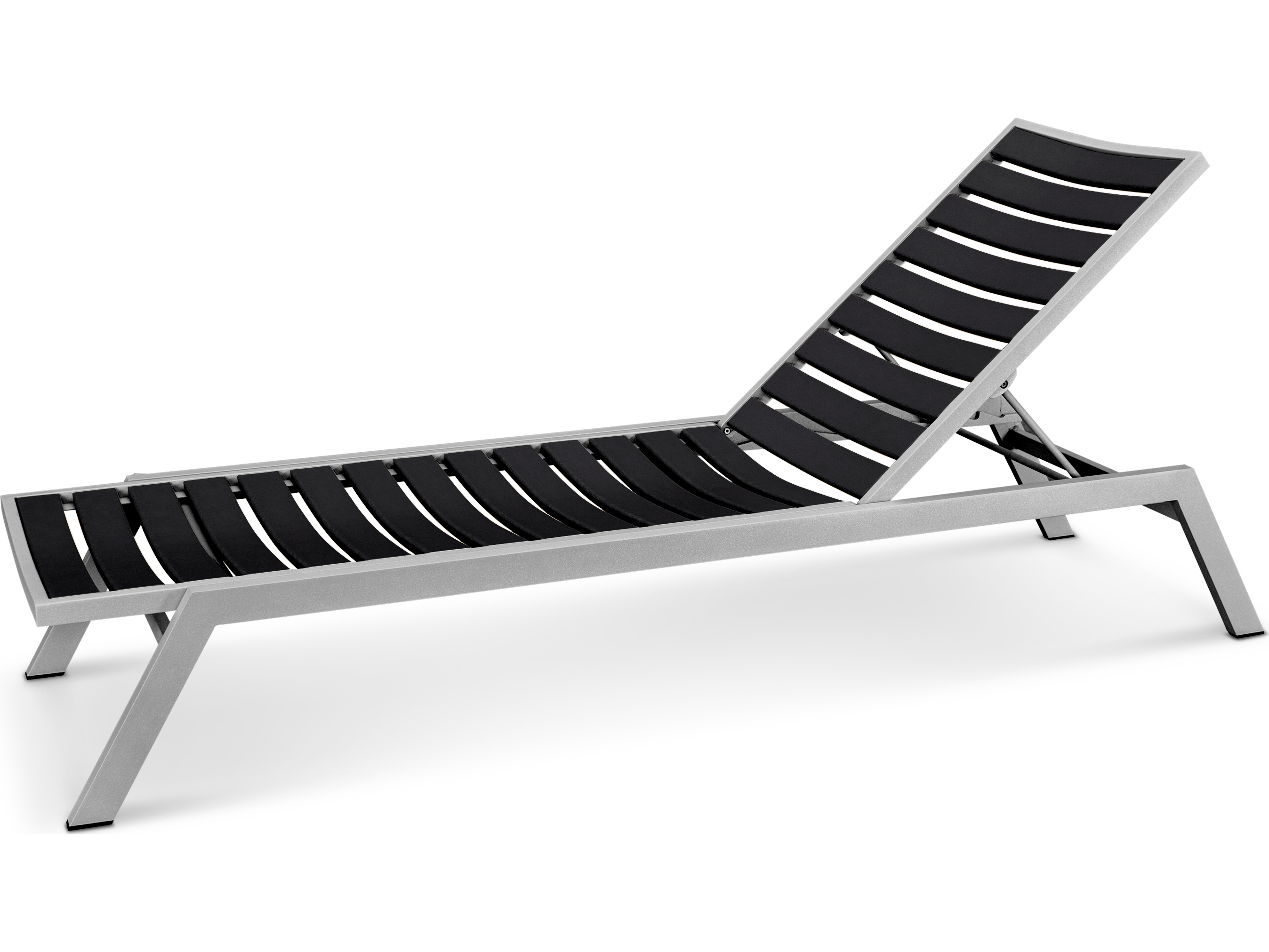 Polywood euro recycled plastic chaise lounge ac1 for Chaise plastique