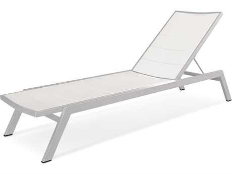 POLYWOOD® Metro Aluminum Adjustable Chaise Lounge