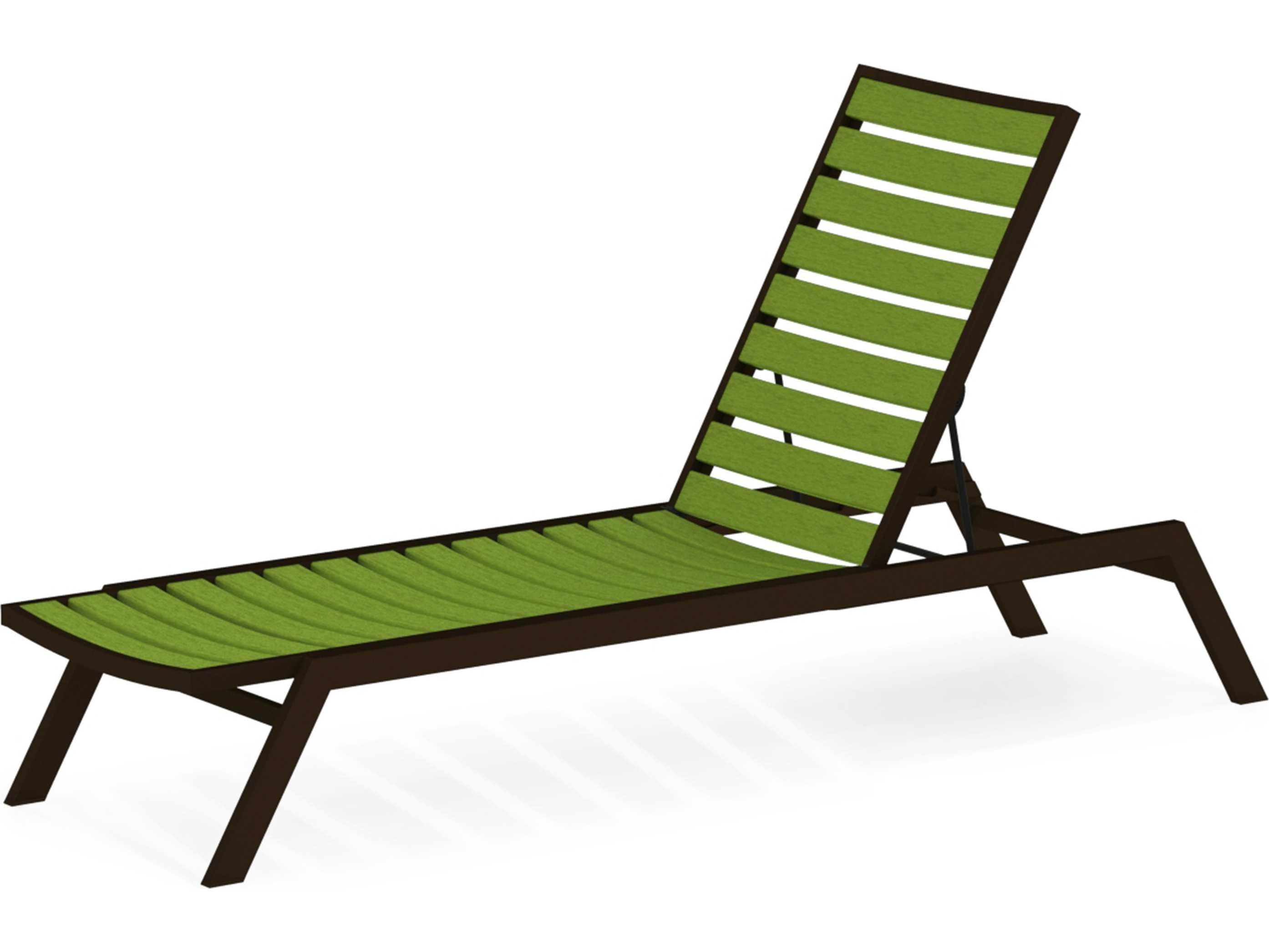 Polywood metro aluminum adjustable chaise lounge pwac120 - Chaise longue aluminium ...