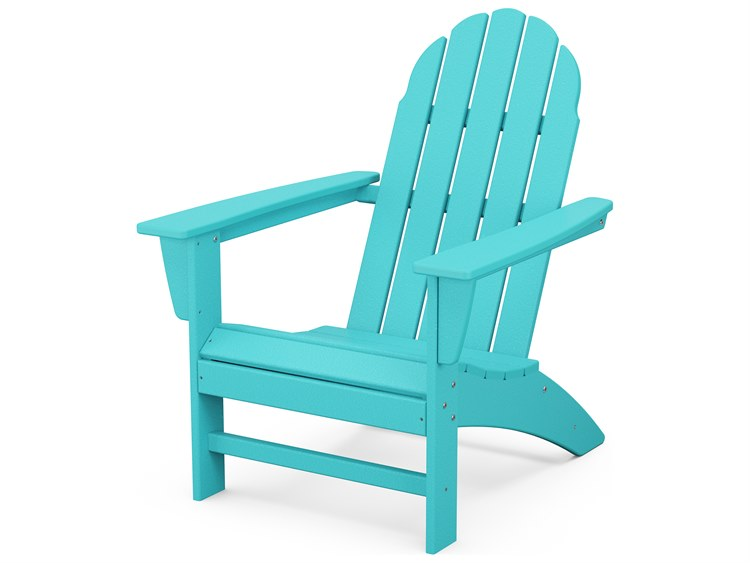 POLYWOOD® Vineyard Recycled Plastic Adirondack Chair PatioLiving