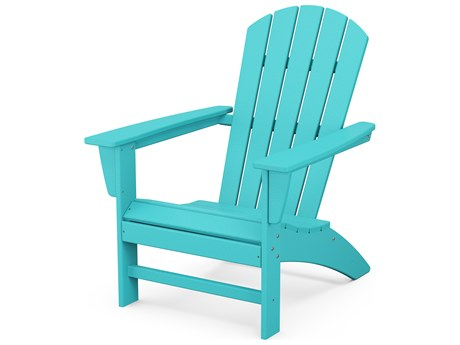 POLYWOOD® Nautical Recycled Plastic Adirondack Chair