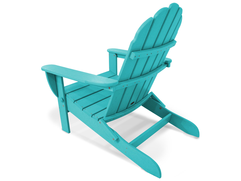 Polywood 174 Classic Adirondack Recycled Plastic Chair Pwad7030